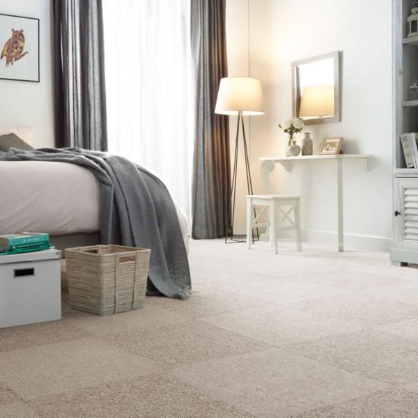 Teppeflis Floordream white 630. Myk luksus!
