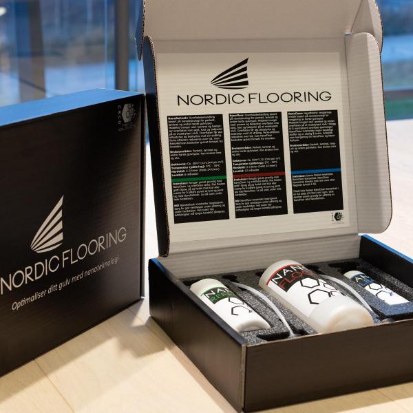 Nordic Flooring Nanofloor pakke (Nanofloor/ refresh og clean)