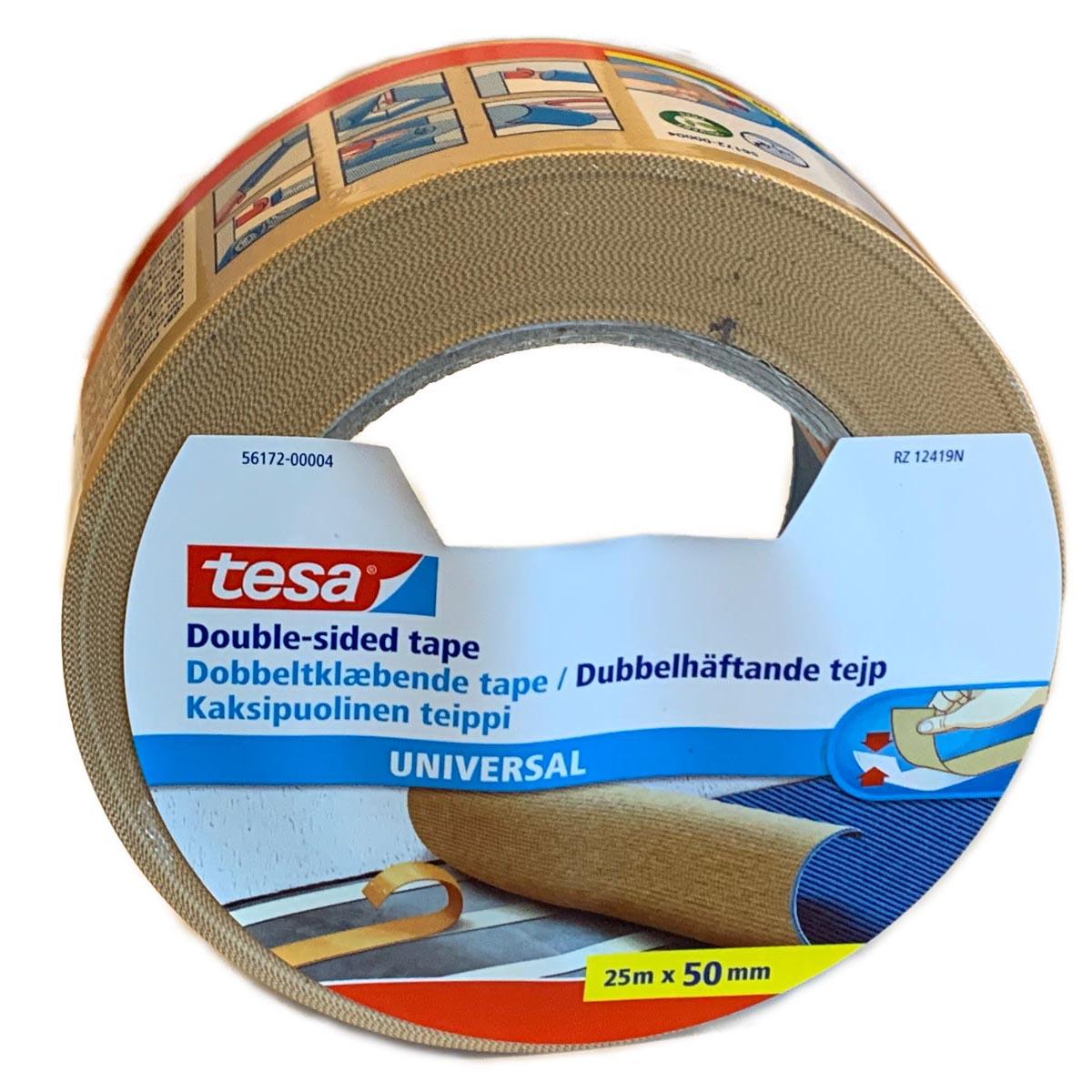 Tesa dobbeltsidig tape for teppeflis og gulvbelegg